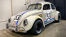 Herbie at Electric Dreams Slot Car
