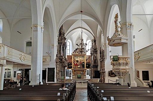 Herderkirche Innenraum (UNESCO-Weltkulturerbe Klassisches Weimar