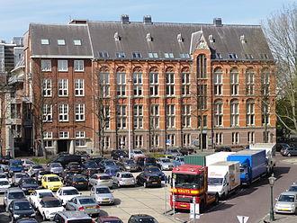 Rijksmuseum van Geologie en Mineralogie - 2nd Building, Garenmarkt Leiden (1893-1966)