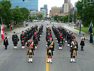 Regimental Pipes and Drums of The Calgary Highlanders