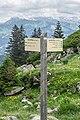 Hiking sign at Lac de Roy.jpg