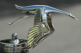 Hispano-Suiza - Hispano-Suiza stork hood ornament.
