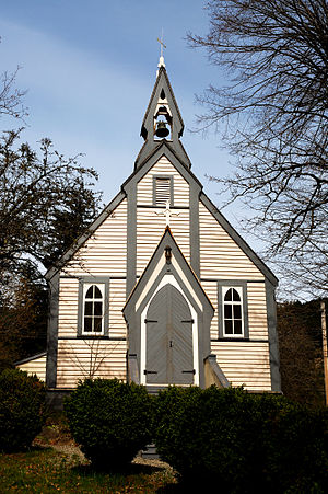 Yale, British Columbia - Historic Yale church