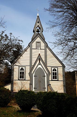Yale, British Columbia - Historic Yale church