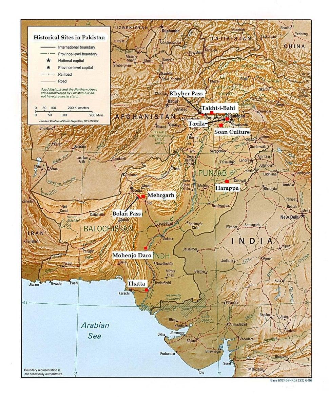 Historic pakistan rel96b