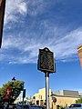 Historical Marker, Trade Street, Winston-Salem, NC (49030516728).jpg