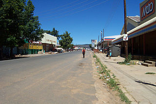 Hlotse Place in Leribe District, Lesotho