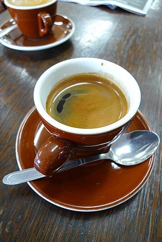 Caffè Americano - A Caffè Americano