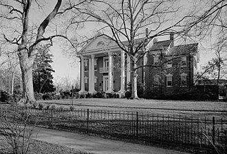 Holly Springs, Mississippi - Montrose, an Antebellum mansion in Holly Springs.