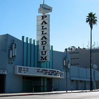 Hollywood Palladium - The Palladium in 2005, prior to 2008 renovation