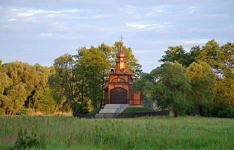 Holy Spirit chapel in Jabłeczna (Яблочина)