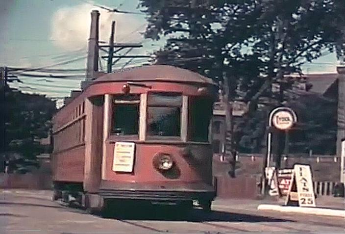 Holyoke Street Railway, The Flats, 1937