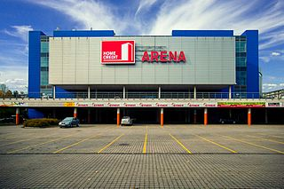 Home Credit Arena architectural structure