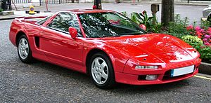 Acura - The Honda NSX, badged as an Acura in certain regions
