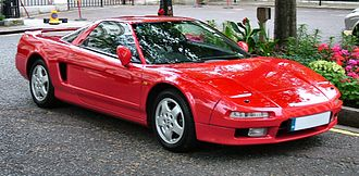 Acura - The Honda NSX, badged as an Acura in certain regions