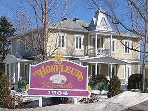 Honfleur, Quebec - Honfleur City Hall
