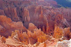 Geology of North America - Cedar Breaks National Monument, Utah.