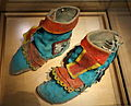 Hopi boots for Kachina dancer, southwestern United States, c. 1890 - Bata Shoe Museum - DSC00182.JPG