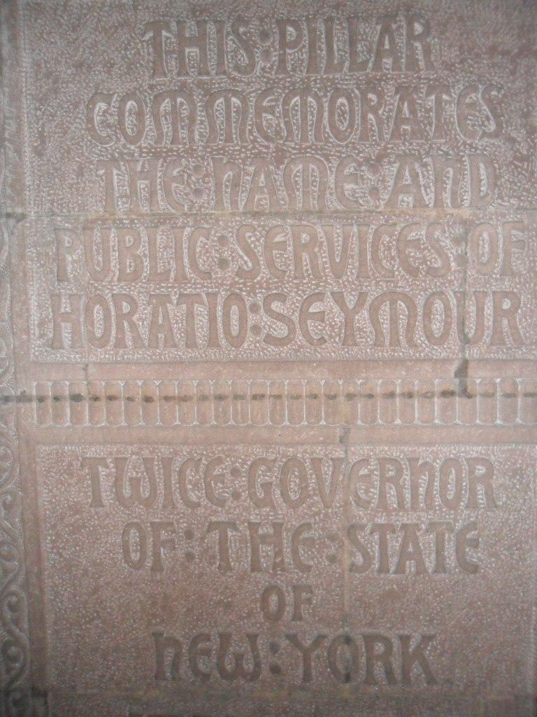 Horatio Seymour memorial
