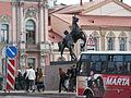 Horse Tamers number 2 on Anichkov Bridge.jpg
