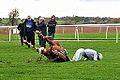Horse and Jockey falling (8137781077).jpg