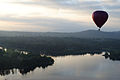 Hot air balloon over Lake Burley Griffin 2.JPG