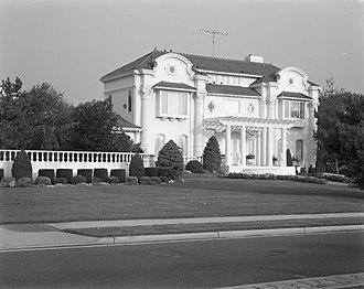 Deal, New Jersey - House on Ocean Boulevard