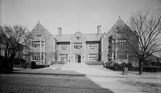 Frank Miles Day - Image: Houston Hall, University of Pennsylvania, Philadelphia, PA