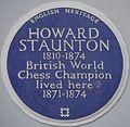 Howard Staunton 117 Lansdowne Road blue plaque.jpg