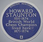 Howard Staunton 117 Lansdowne Road blue plaque.jpg