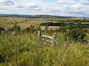 Howardian Hills - View of the Howardian Hills