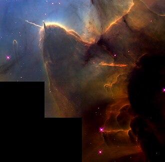 Trifid Nebula - Image: Hs 1999 42 a full jpg