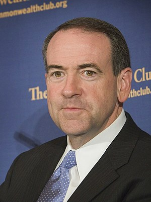 New Hampshire Republican primary, 2008 - Image: Huckabee SF CC 024