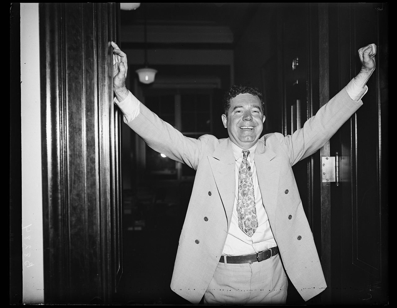 """an analysis of huey longs political career in huey long by t harry williams The assasination of huey long topics: huey long, franklin d roosevelt, louisiana state university pages: 5 (2051 words) published: april 30, 2008 huey long, nicknamed the """"kingfish"""", was a politician from louisiana who had an interesting and tumultuous political career that culminated in his assassination attempt on september 8, 1935."""