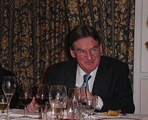 Hugh Johnson at the Oxford Cambridge blind tas...