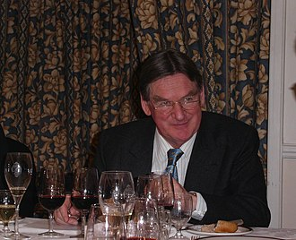 Hugh Johnson (wine writer) - Hugh Johnson in 2003