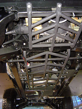 Hummer H1 - Image: Hummer under carriage