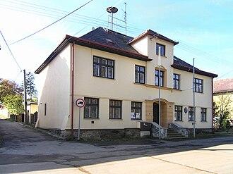 Hybrálec - Image: Hybrálec, municipal office