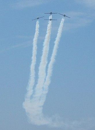 IAF Aerobatic Team - Image: IAF Tel Aviv 60 Independence day 02
