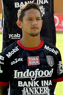 Irfan Bachdim namens Bali United in 2017.