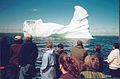 ICEBERG OUTSIDE BATTLE HRBOUR 25TH JULY 2002 Port Hope Simpson Off The Beaten Path Llewelyn Pritchard.jpg