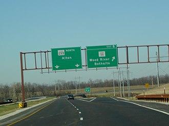 Illinois Route 255 - Image: IL255Nexit 8