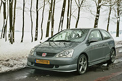 Honda Civic VII 3d w wersji Type-R po face liftingu