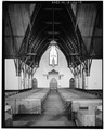 INTERIOR LOOKING WEST - Saint James Episcopal Church, 208 North Fourth Street, Baton Rouge, East Baton Rouge Parish, LA HABS LA,17-BATRO,10-10.tif