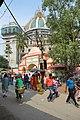 ISKCON Campus Main Gate Area - Bhaktisiddhanta Saraswati Marg - Mayapur - Nadia 2017-08-15 2182.JPG