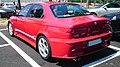 ITALY - Alfa Romeo 156 GTA red supersport sedan parked automobiles out of Museo Storico Alfa Romeo Milan 4.jpg