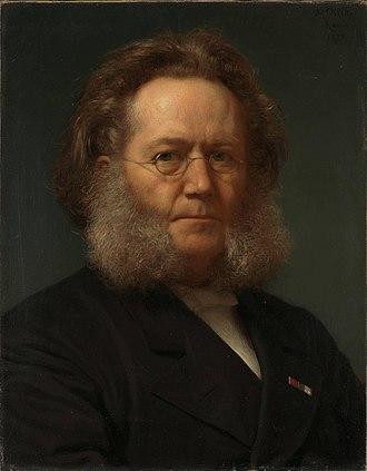 Henrik Olrik - Image: Ibsen by Olrik