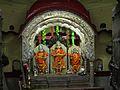 Idol of Ram Lakshman & Sita in Ram Mandir inside tulshi baug.jpg