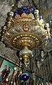 Ierusalim, Muntele Maslinilor. Biserica Mormantul Maicii Domnului (Candela daruita de Carol I).jpg