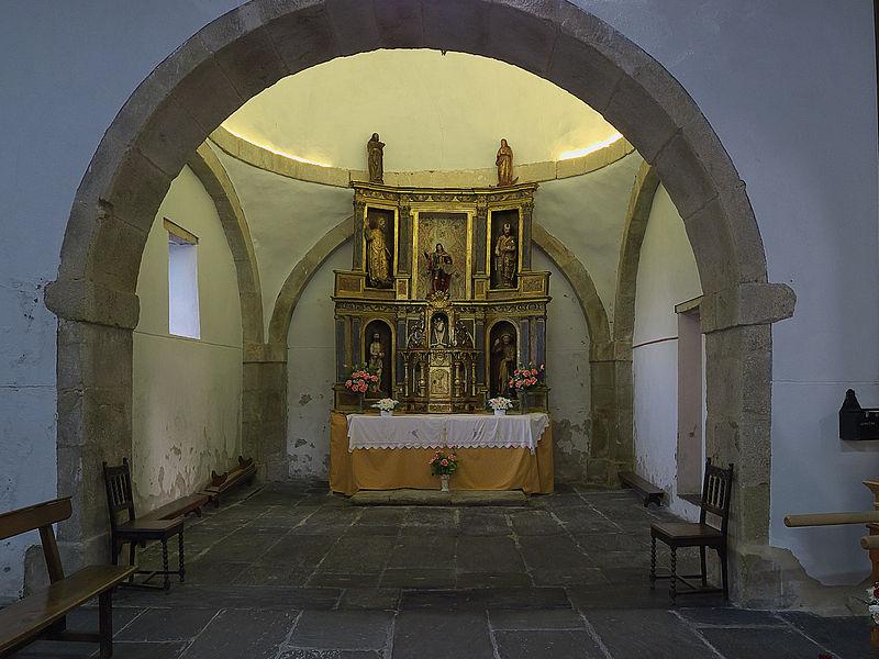 Iglesia de Santo Tomás de las Ollas (Ponferrada). Capilla.jpg